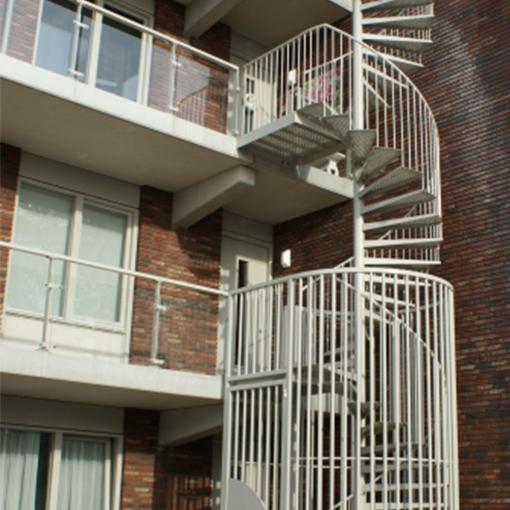 Stalen trappencomplex Hoogeveen