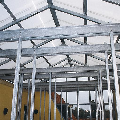 Stalen dakconstructie Hoogeveen Staalconstructie